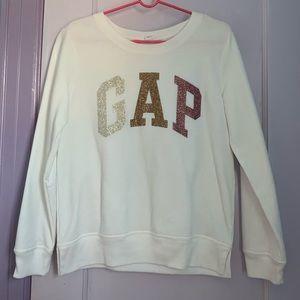 GAP White Sweatshirt (NWOT)